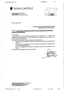 Comunicazione alla Commissione Mobilità e Ambiente